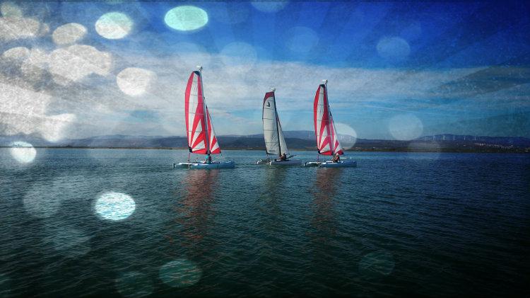 Bon Cadeau: Stage Semaine Catamaran Découverte