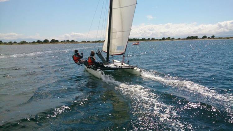 Cours part: Catamaran  1h 1 personne