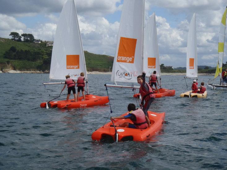 Catamaran enfant (Funboat) été 2020