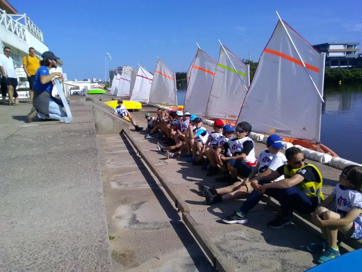 OPTIMIST LAC PERFECTIONNEMENT - STAGE TOUSSAINT