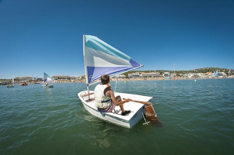 Optimist Matelot 8/10 ans mer avec rando