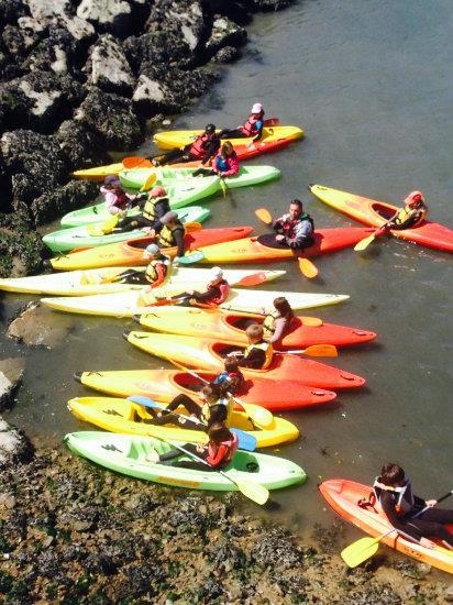 Stage Kayak enfants