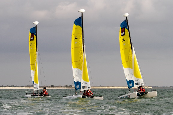 Stage catamaran HOBIE CAT T1