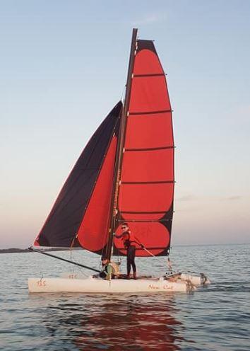 Catamaran jeune: New Cat 13.5 et Topaz 14
