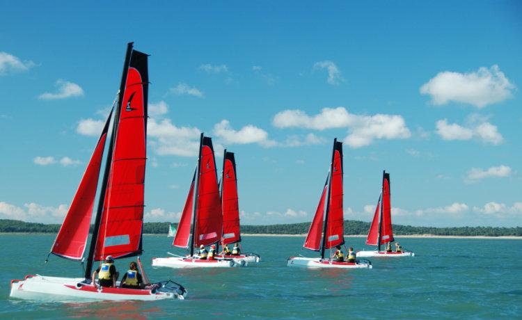 Stage 1 -  Catamaran Twin Cat 13