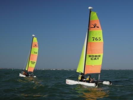 Stage 1 -  Catamaran Hobie Twixxy