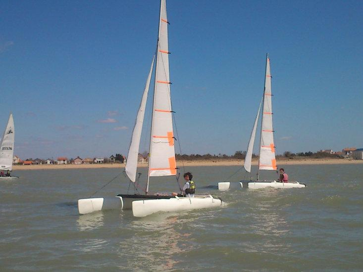 CATAMARAN ADULTE HC 16 STAGE VACANCES TOUSSAINT