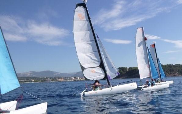 catamaran 14 pieds - Automne 2020