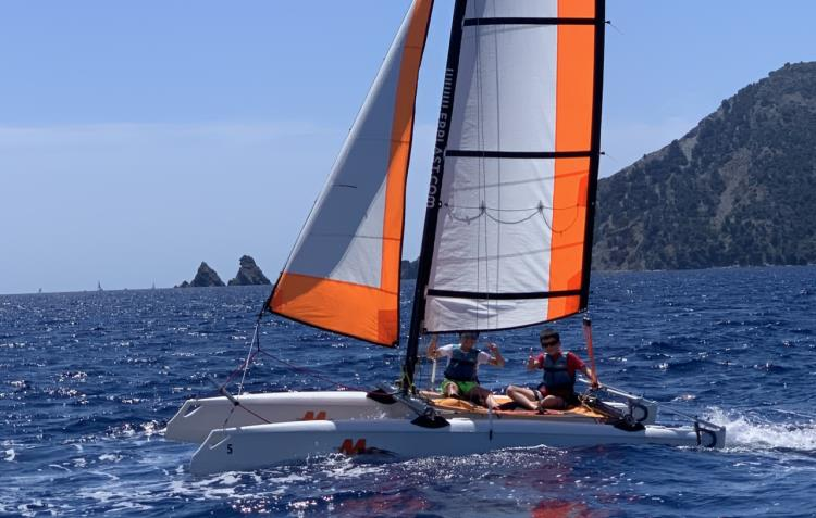 catamaran 14 pieds - Pâques 2021