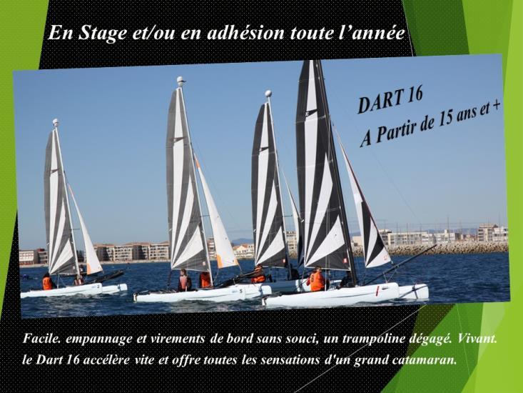 Stage - Catamaran DART16 -  15 ans et +