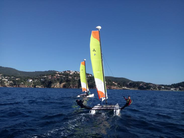 STAGE ETE CATAMARAN T1