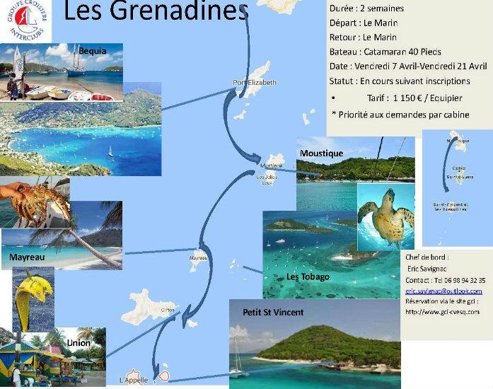 Croisière 14j Martinique-Grenadines 104 HO