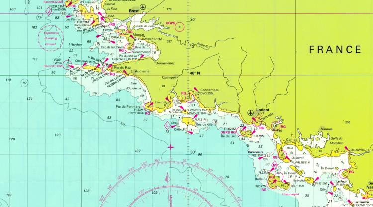 Croisière 7 jours retour de Brest, Bretagne Sud 2018 332 ET