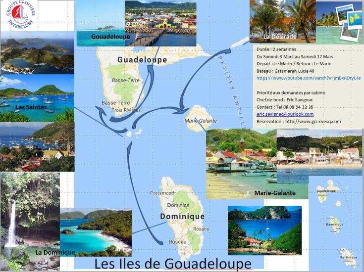 Croisière 14j Martinique- les îles de Guadeloupe 104 HO
