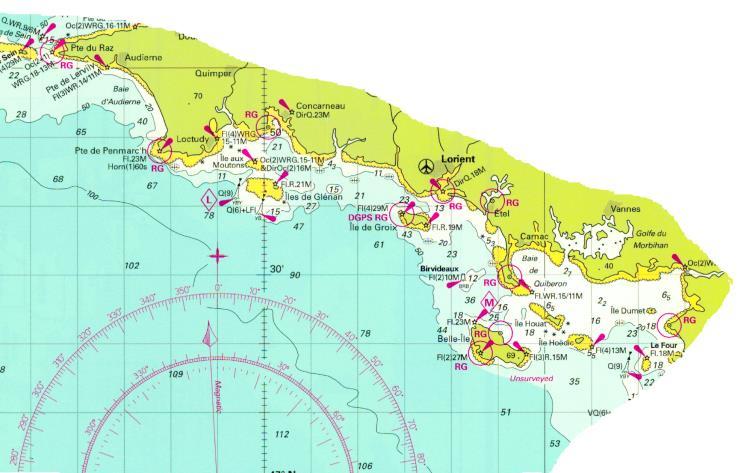 Croisière 7 jours vers Brest via îles de Glénan 2018 312 ET
