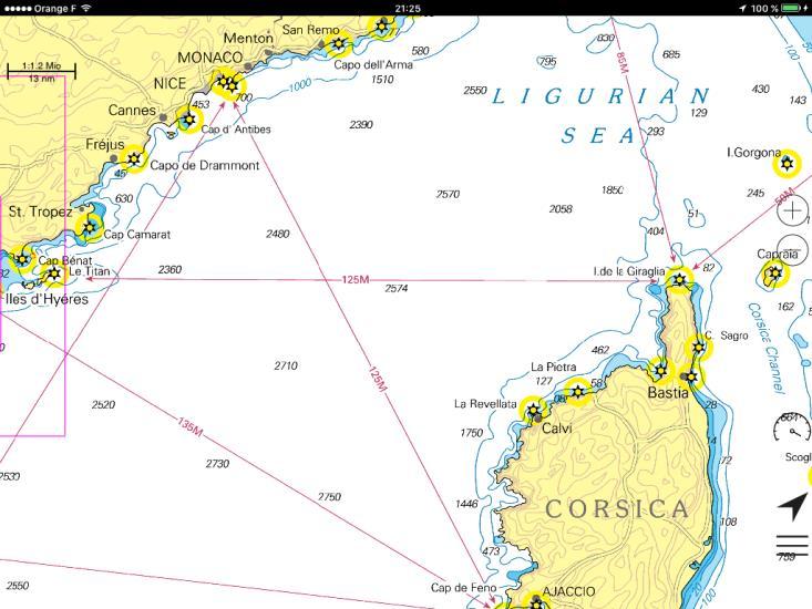 Croisière 14j en Corse et retour Bandol 2020 324 LS