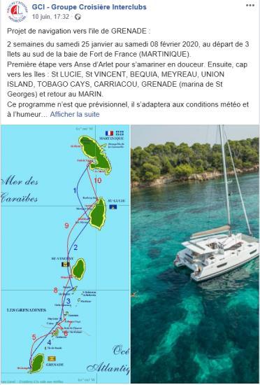 Croisière 14 jours Grenadines 2020 204 SV