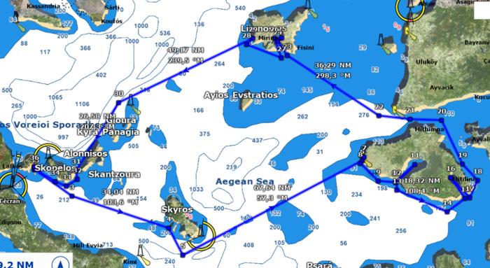 Croisière 14j en Grèce 2020 234 KI
