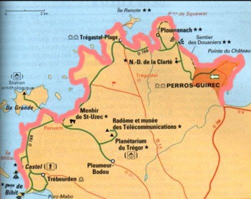 Croisière 7 jours Côte de granit rose 2020 322 BA