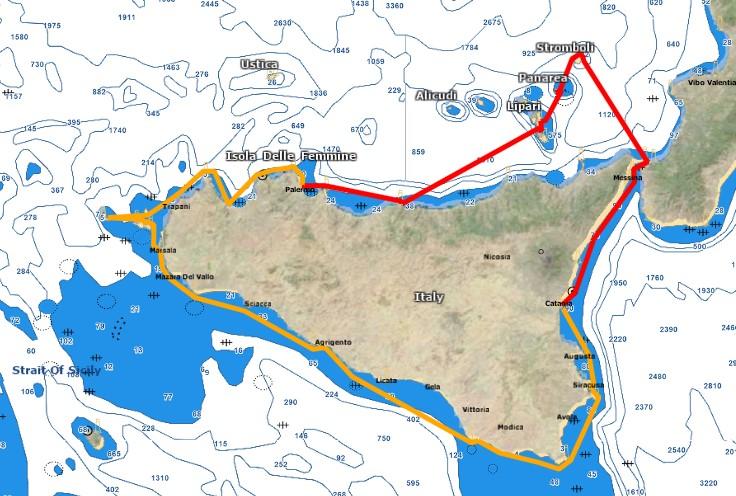 Croisière 14j en Sicile 2020 REPORTE 294 VP