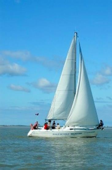 Balade Fort Boyard en voilier