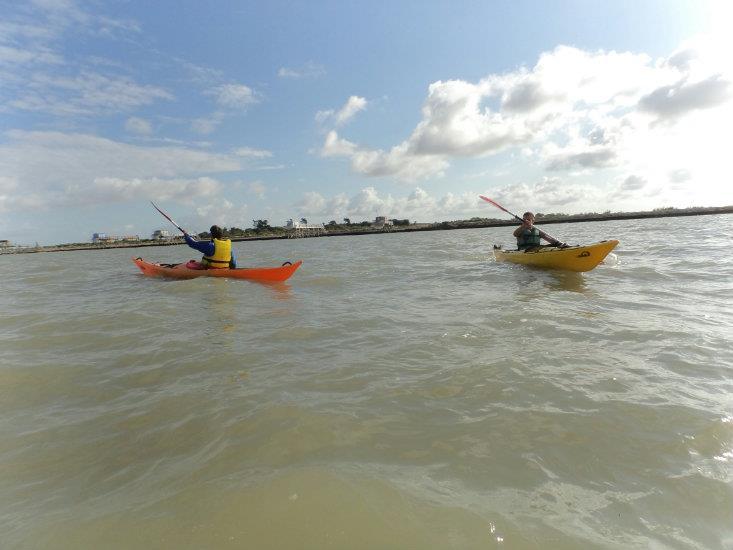 Balade kayak vers la corderie