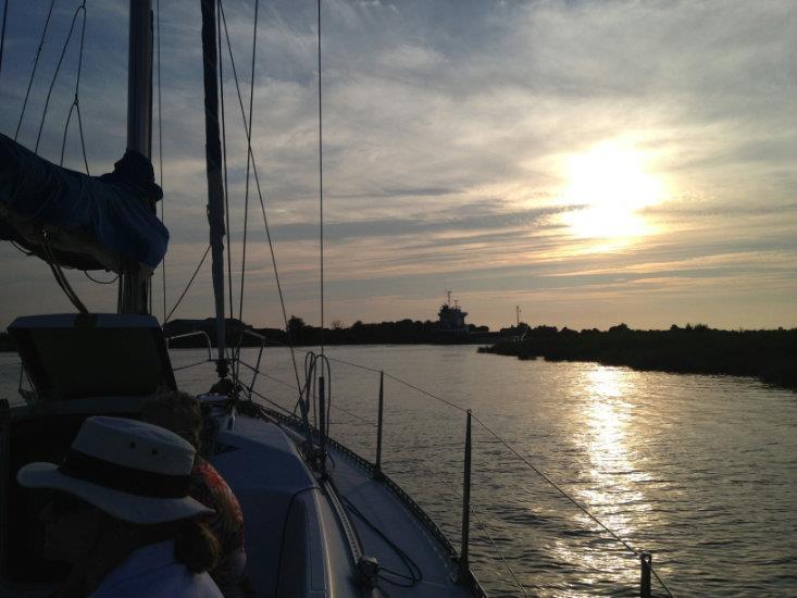 Balade gourmande vers l'Ile Madame en voilier
