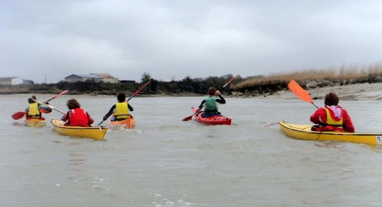 Balade Ile Madame en Kayak