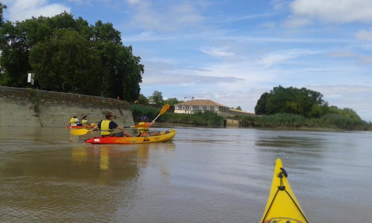 Balade sur la Charente d'1h en kayak