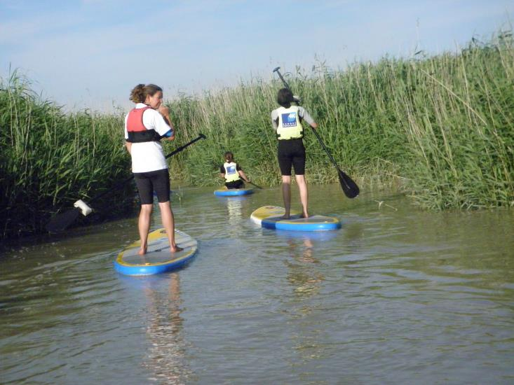 Initiation en paddle