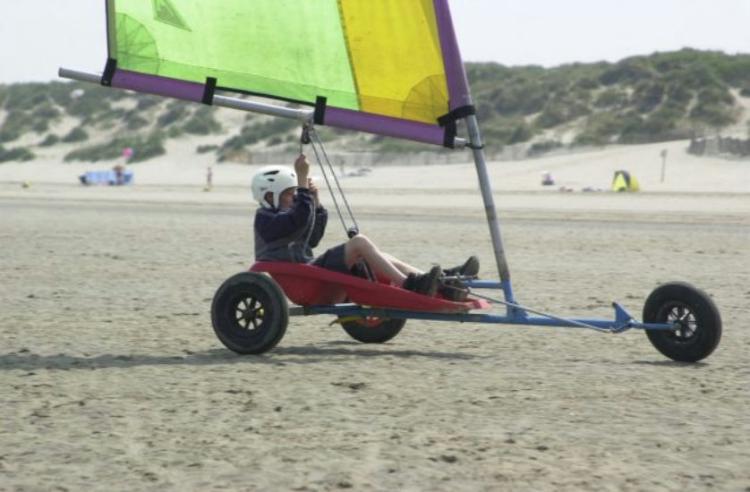 Char à voile Dunkerque 8 ans et +