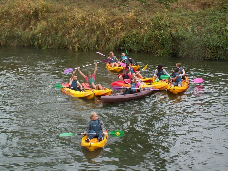 Canoe Kayak 8 ans et + matin