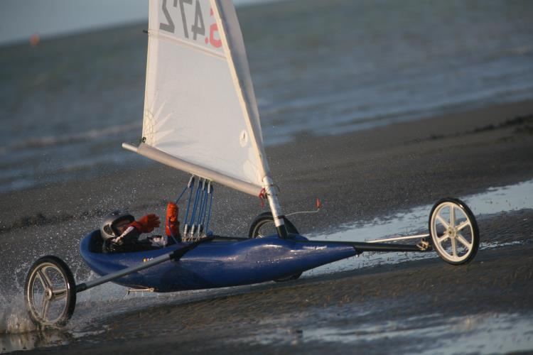 CHAR A VOILE - DUNKERQUE
