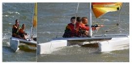 Mini stage Catamaran 3x2h