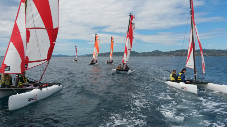 catamaran vacances de printemps 14h-17h