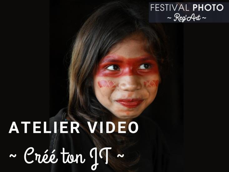 """Atelier Vidéo """"Créé ton JT ou ton bulletin météo"""" 12-17 ans"""