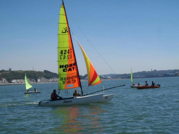 Stage voile multi glisse (catamaran, windsurf, dériveur, paddle, bodyboard)