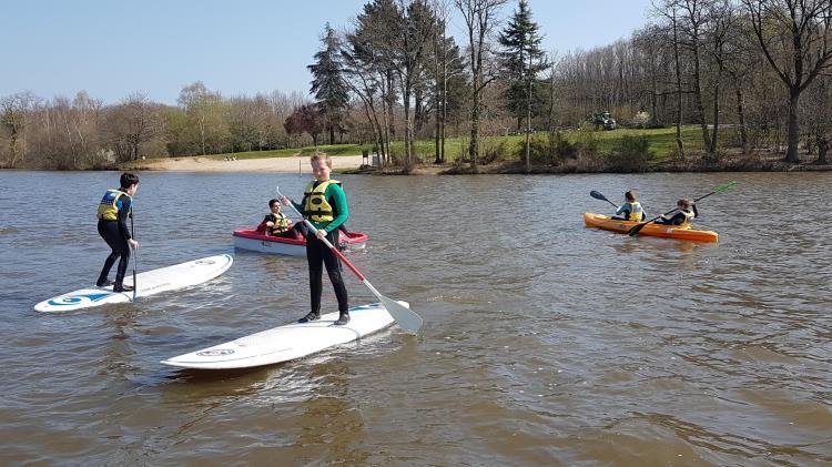 _Paddle à l'étang Aumée