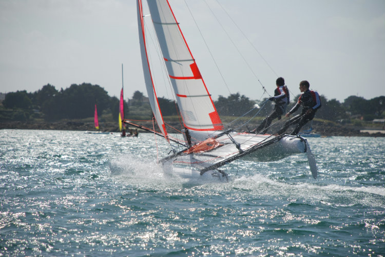 Stage Catamaran matin  2020