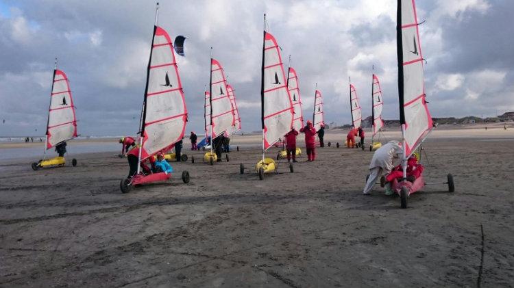 Initiation Char à voile Dunkerque 2017