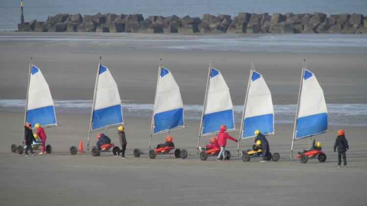 Stage char à voile 5 jours Zuydcoote 2019