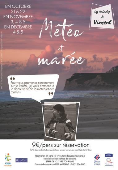 Météo & Marée  Balade de Vincent