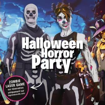 Soirée DJ Halloween 3?+ Laser Game 3?