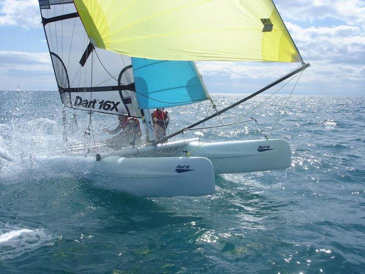 Location : 1h de Catamaran 16 pieds
