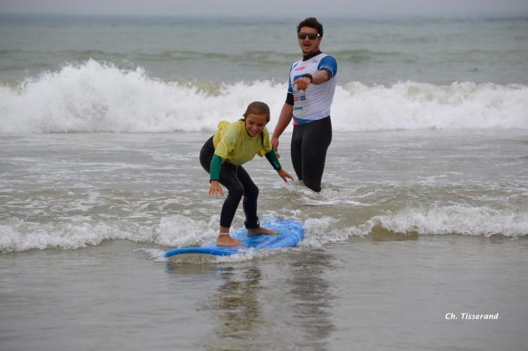 Acompte stage de surf aux Portes