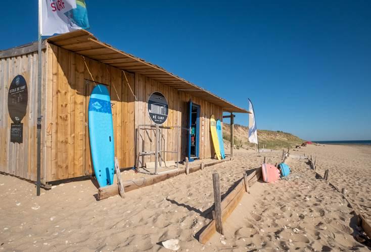 Acompte stage de surf au Bois Plage