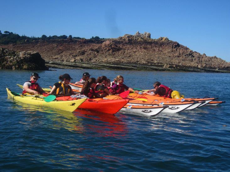 ? Kayak de Mer - Jeunes