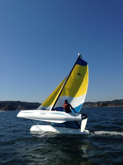 Journée Pique Nique Catamaran Hobie T1