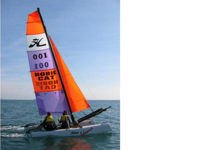 Eté: Advance initiation catamaran