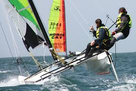 Eté: Hobie Cat 15 perfectionnement